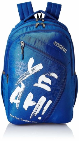 American Tourister 27 Ltrs Blue best Casual Backpack