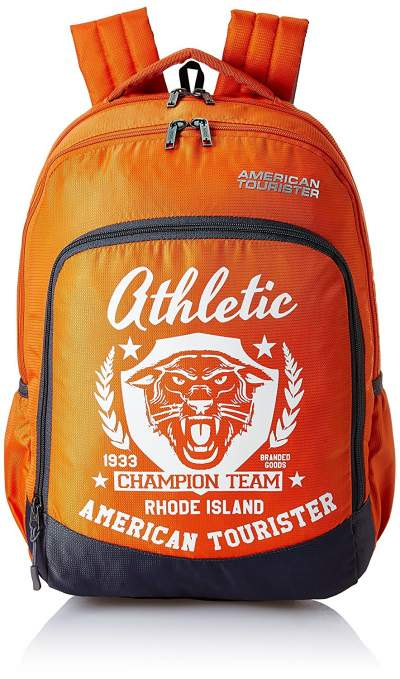 American Tourister 27 Ltrs Orange Casual