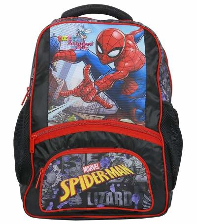 KITEX SCOOBEE DAY SCHOOL BAG POGO XL SPIDERMAN
