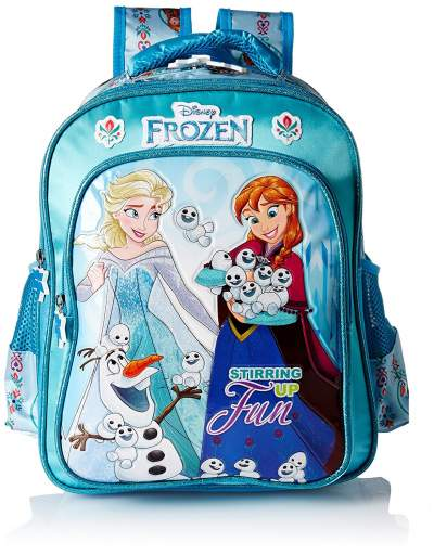 Frozen 20 Ltrs Blue School Backpack