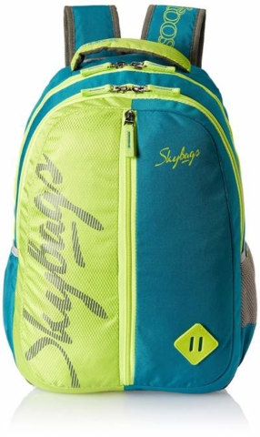 Skybags 25 Ltrs Teal School Backpack