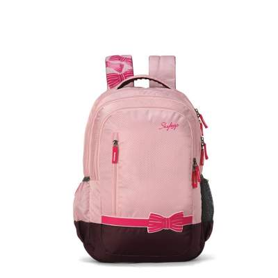 Skybags Bingo Plus 36 Ltrs Pink School Backpack
