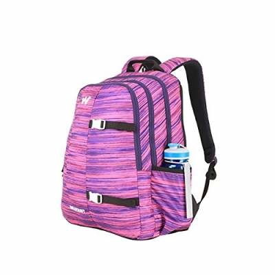 Wildcraft Polyester 36 Ltrs Purple School Backpack